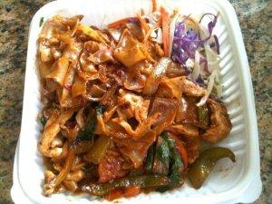 Yum Pad Kee Mao extra spicy!!!