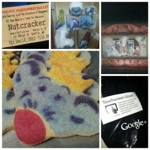 Cookies and swag at the Nutcracker thanks to Google +