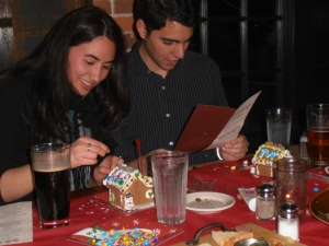 Luis and Carina enjoying the festivities!