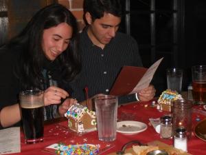 Luis and Carina enjoying the festivities!