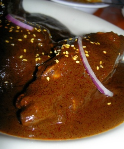 Wonderful outcome on our chicken mole.  Deliciously spicy and creamy sauce, juicy chicken.  Would make again in a heartbeat.