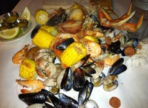 Round 1 at the Crab Pot