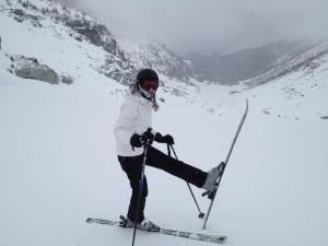 Post conquering Blackcomb Glacier...well I still had a 5 mile run ahead of me but the hard part was over.