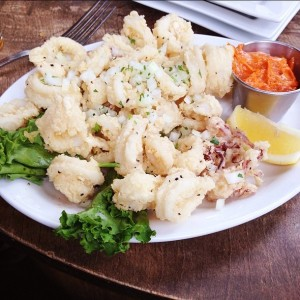 Calamari deliciousness at 9 Million in Unmarked Bills.