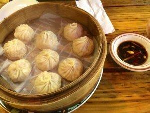 Soup dumplings.