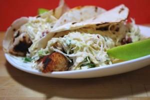 Yummy fish tacos!!!