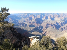 My first view of the Grand Canyon.