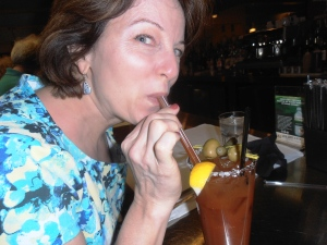 One bloody mary @Hash House a Go Go at the Quad