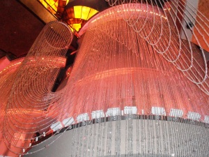 The Chandelier bar @The Cosmopolitan.