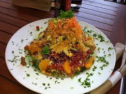 Thai Chicken Salad from Veggie Grill