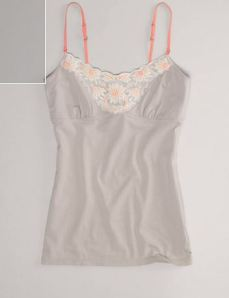 Lace cami because they are always in need.
