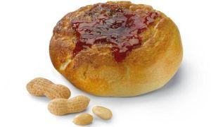 Einstein Bros. new peanut butter and jelly bagel.