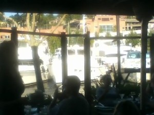 View from Chandlers right on Lake Union
