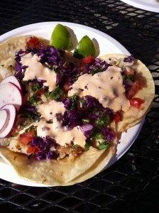 Camion fish tacos