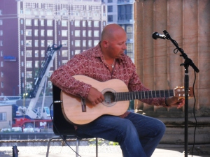 Andre the flamenco guitarist.