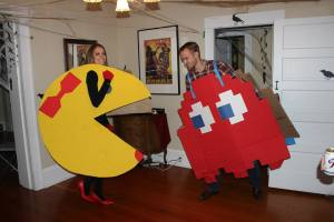 Ms. Pacman and Blinky