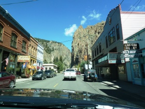 The cute town of Creed before hitting the trailhead.