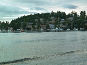 Ferry ride home from San Juans.