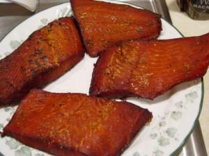 Bryan's smoked salmon.