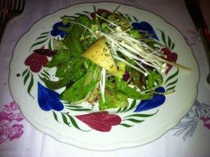 Simple green salad.