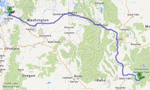 Seattle to Jackson