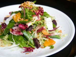 I love beets!  And goat cheese!
