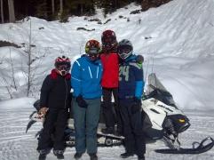Group shot in Whistler.