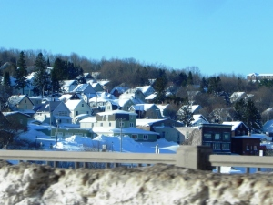 The cute town of Houghton.