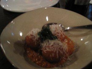 Meatballs at MANI