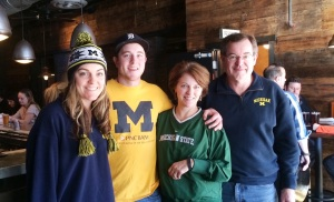 The family during my trip to Michigan.
