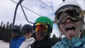 Second day on the lifts.