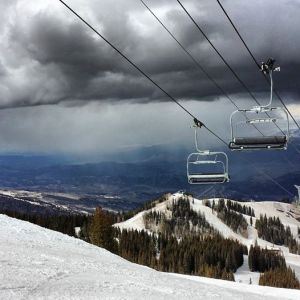 Great ski lifts, and amazing views.
