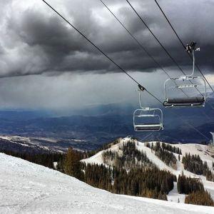Great ski lifts, and amazing views.