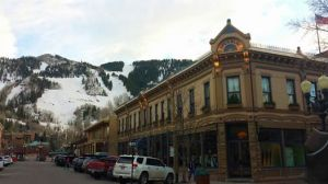 Cute downtown Aspen.