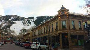 Cute downtown Aspen.