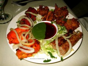 Tandoori surprise appetizer