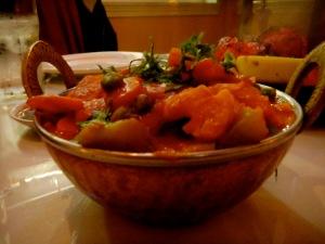 Veggie chili masala
