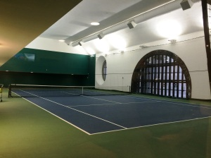 Tennis inside Grand Central!!!