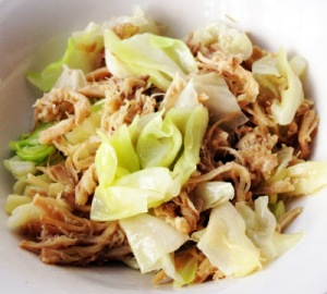Kalua Pig and Cabbage for the office.