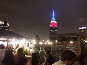 Rooftop terrace at RARE