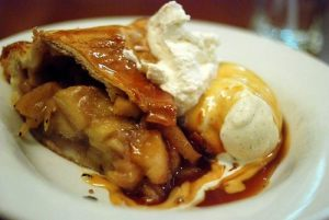Yup, this was good.  Apple, ginger pear pie.