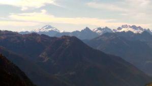 Glacier Peak and all the massive North Cascade mountains!