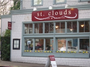 Cute St. Clouds for after-church brunch.