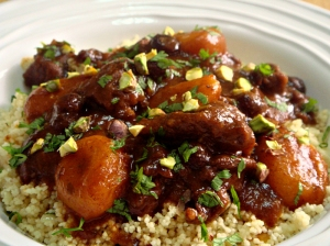 Beef and butternut squash tagine.