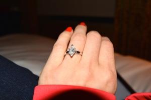 That diamond ring!