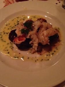 My Tenderloin with lobster