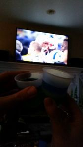 I'll cheers to a Seahawks touchdown anytime.