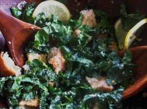 I really do love kale caesar salads!