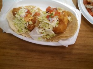 Killer fish tacos!