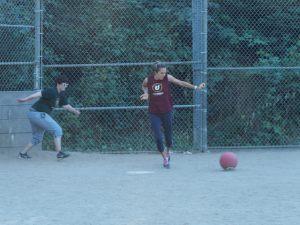 Pro kickballer!